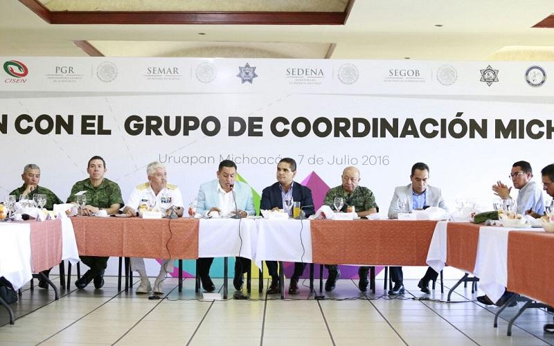 Se revisaron las acciones en materia de seguridad que se implementan en esta región del estado
