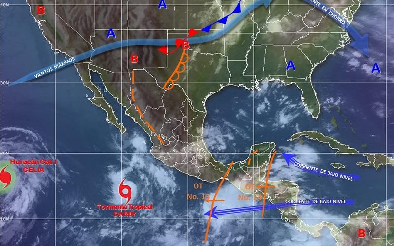 El SMN reitera su llamado a la población a mantenerse informada sobre las condiciones meteorológicas