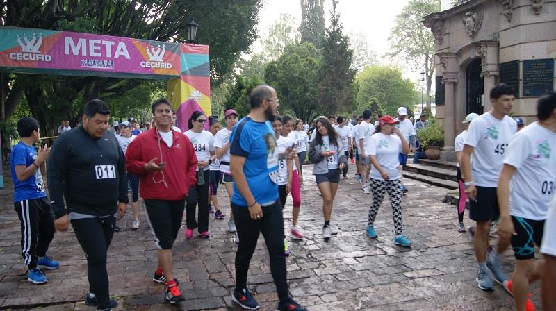 La justa deportiva contó con la participación de funcionarios federales de los tres órdenes de gobierno del sector ambiental de Michoacán, además de personas procedentes de los estados de Guanajuato, Colima y Jalisco