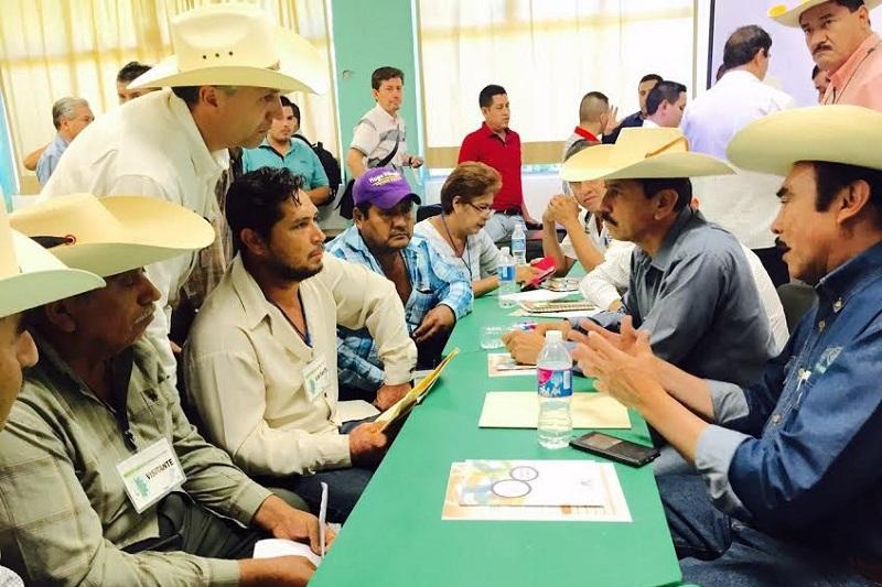 Es desde los municipios, en donde se deben priorizar los proyectos productivos con la participación de todos, la idea es que sea de gran impacto y beneficien a grupos y comunidades de productores: Tentory García