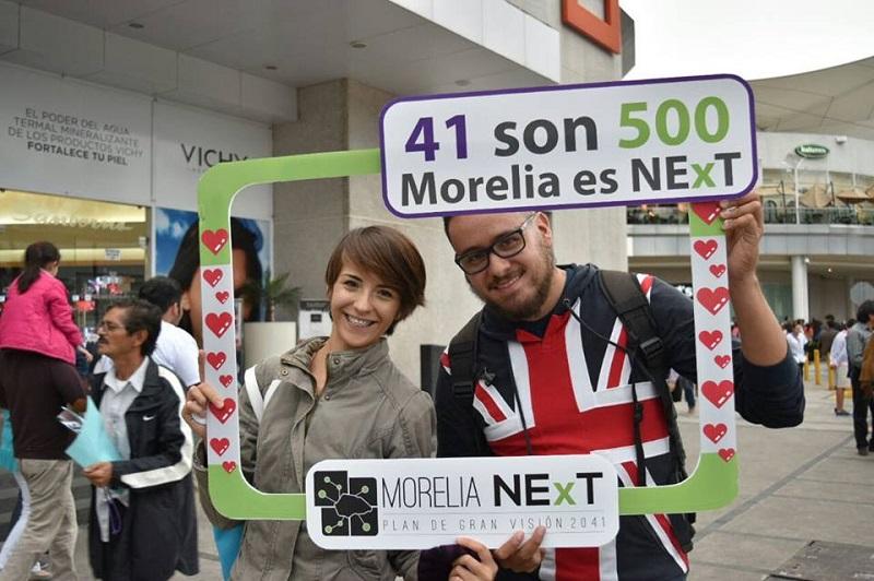 Morelia NExT, construye participativamente el futuro de Morelia, asegura comunicado de prensa