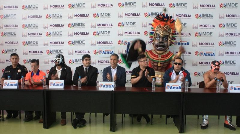 Después de una ausencia de 3 años, la marca líder en  el llamado deporte del pancracio mexicano realizará de nueva cuenta una función en suelo moreliano