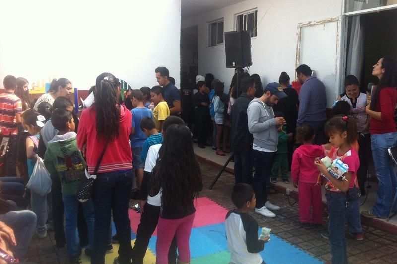 Más de cien niños del sur de Morelia participaron en los cursos lúdicos-didácticos