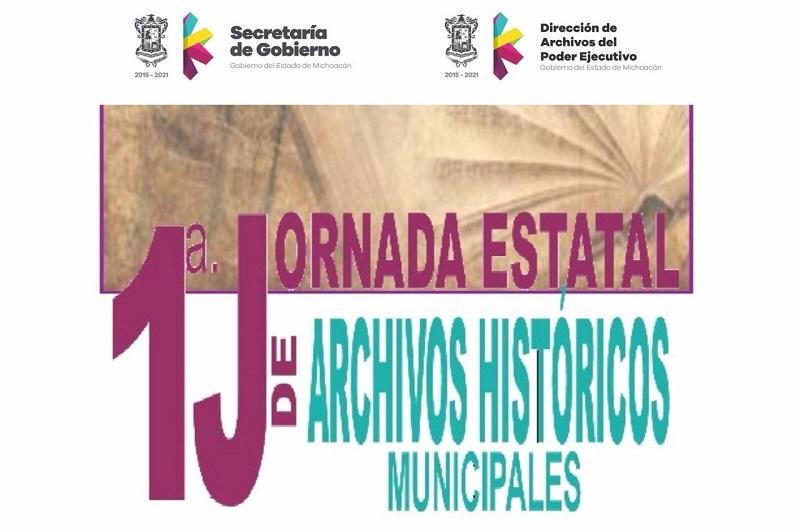 La celebración de la Primera Jornada Estatal de Archivos Municipales se desarrollará este miércoles 3 de agosto del presente año en las instalaciones de Palacio de Gobierno