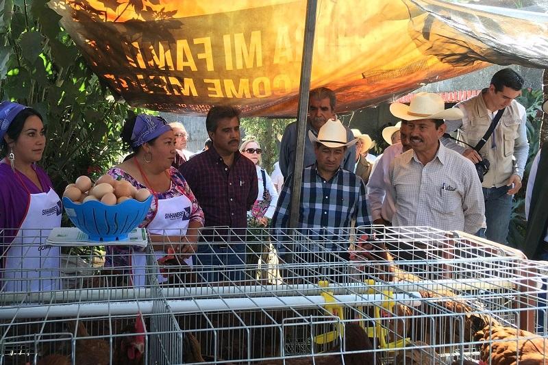 """Tentory García dio a conocer que con el """"PESA 15"""", se asignaron cuatro técnicos que darán asesoría de manera permanente a las familias de las 16 localidades del municipio de Morelia"""