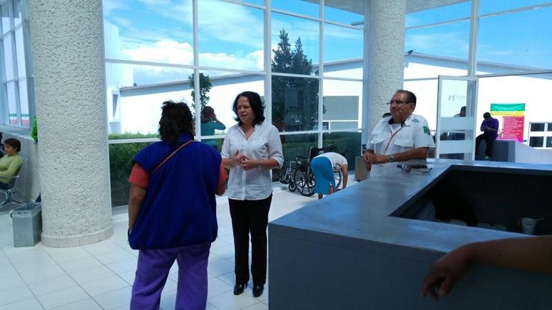 La legisladora del PRD se reunió con especialistas para analizar los problemas de salud en su distrito; se acuerdan acciones preventivas