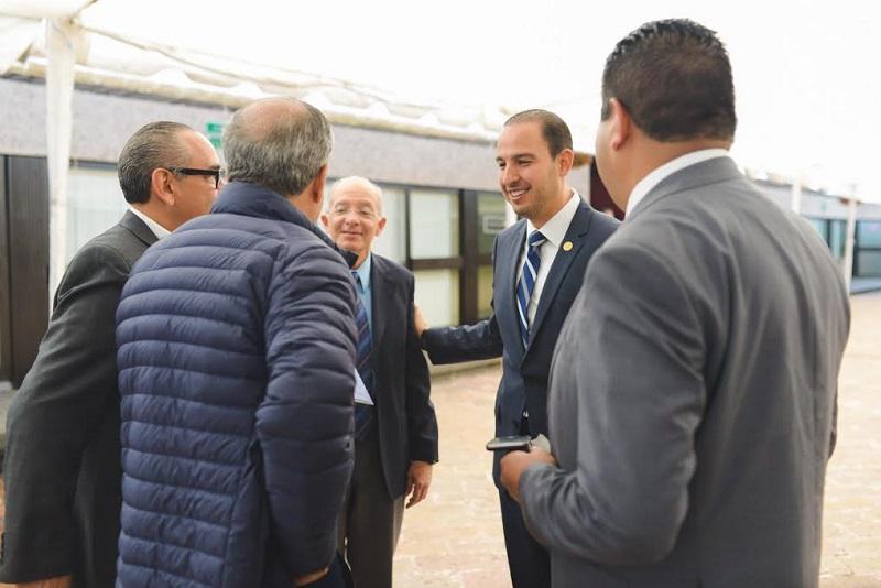 El llamado, dirigido a las autoridades municipales, estatales y federales en materia económica, es para aprovechar al máximo el contexto geográfico y comercial de Michoacán: Cortés Mendoza