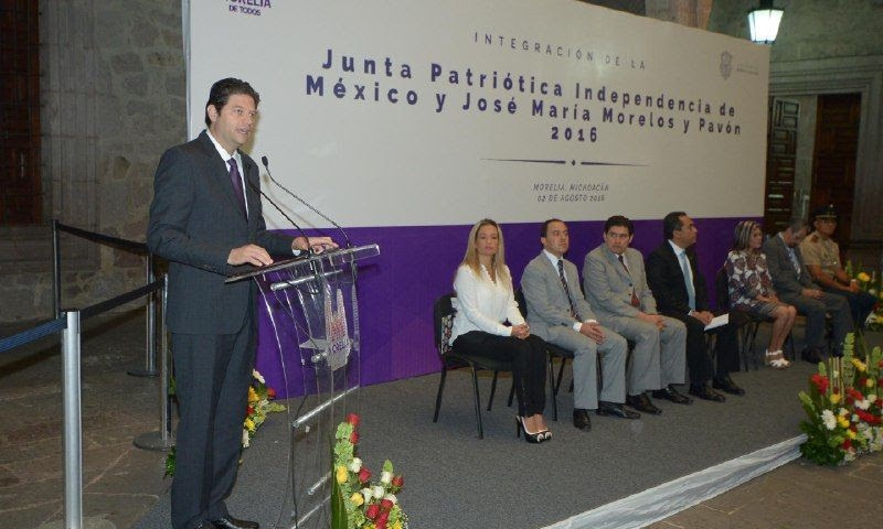 Proyectan programa de actividades que enaltezcan legado histórico de Héroes de la Independencia