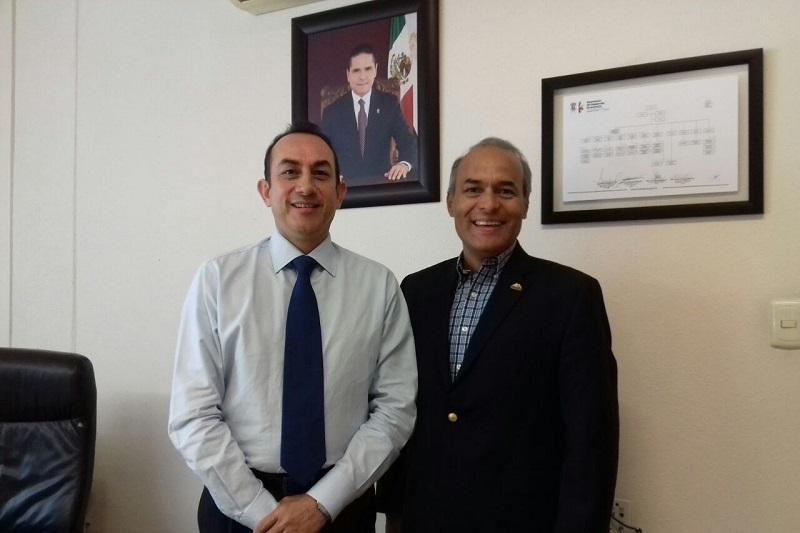 El titular de la Sedeco, Antonio Soto Sánchez, informó lo anterior al concluir una reunión de trabajo con el titular de la Semigrante José Luis Gutiérrez