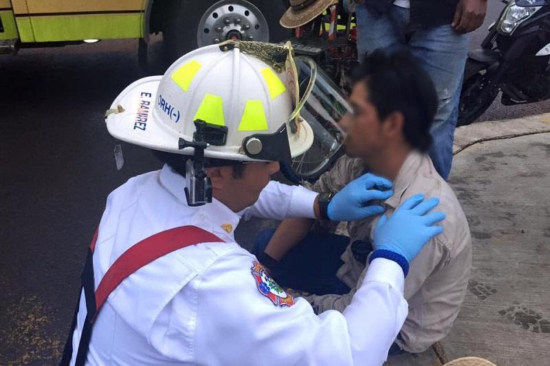 """La formación de aspirantes a esta corporación continuará por 6 meses más """"pero en el campo de acción"""", informó el coordinador de Protección Civil y Bomberos, Eduardo Ramírez Canals"""