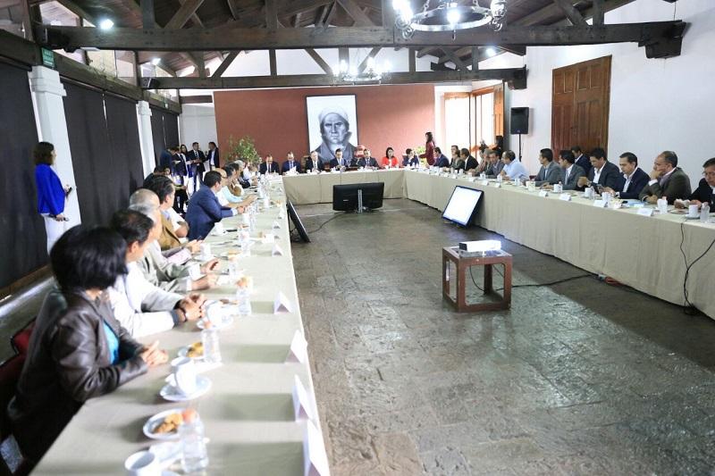 Aureoles Conejo reiteró su disposición de mantener reuniones periódicas con una comisión plural de empresarios