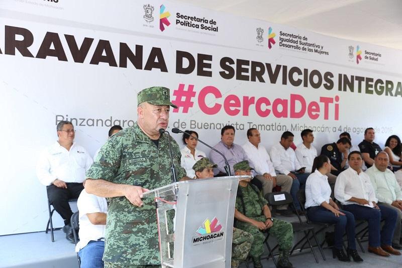 Michoacán, ejemplo de coordinación en materia de seguridad: Felipe Gurrola