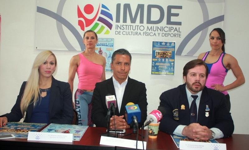 El Director General del IMDE, Gustavo Juárez Bedolla;  además del titular de la AFFEM, Armando Arroyo Barriga; así como la secretaria de dicha asociación, Alma de la Madrid, fueron las personas que anunciaron el evento