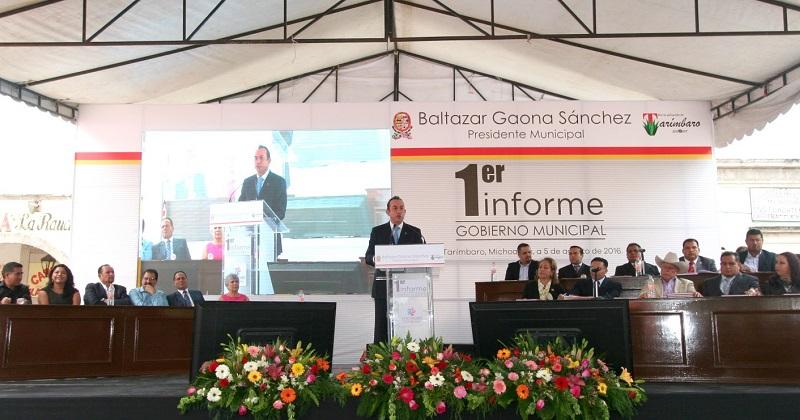 En estos primeros diez meses del gobierno estatal se concretaron acciones en beneficio de Tarímbaro en coordinación con el Ayuntamiento: Soto Sánchez