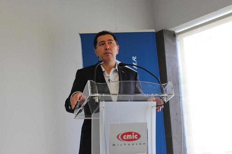 Tovar Zavala, reconoció que este ha sido un año atípico de muy baja actividad para la CMIC, en el cual se han logrado la firma de convenios de colaboración, la realización de capacitaciones, afiliaciones, entre otras cosas