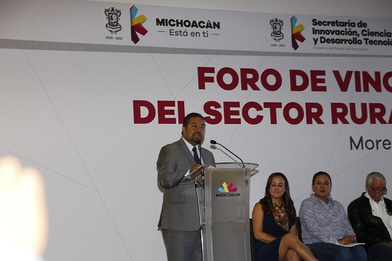 Sicdet y Sedrua inauguran el Foro de Vinculación para la Innovación del Sector Rural – Agroalimentario y Forestal