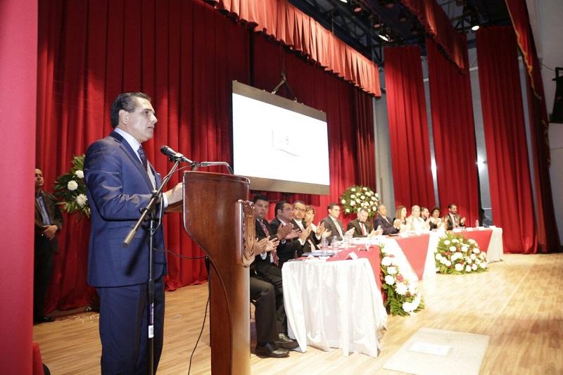 El mandatario estatal atestiguó el Primer Informe de Gobierno del Ayuntamiento de Jiquilpan