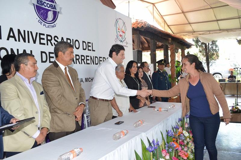El presidente municipal anunció cuatro acciones para dignificar labor de trabajadores de limpia