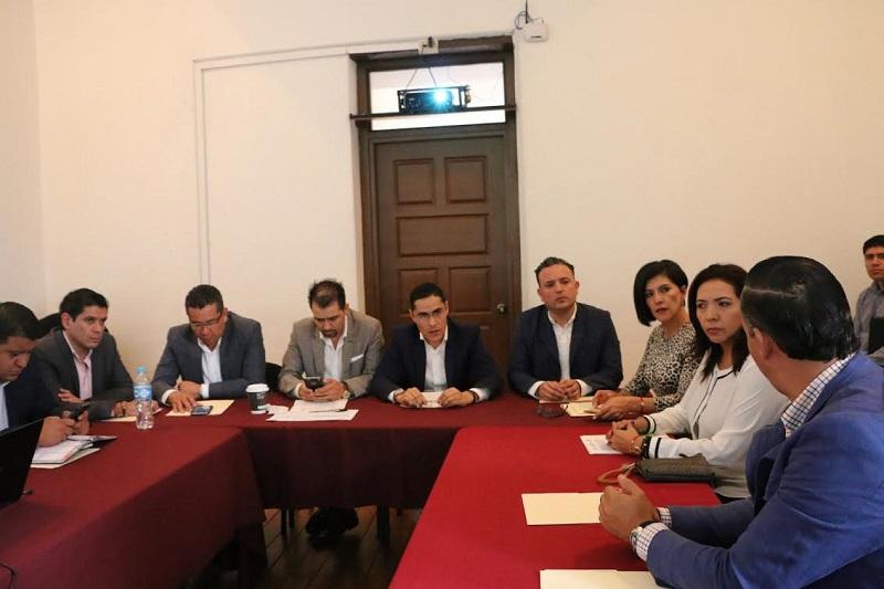 Legisladores del blanquiazul consideraron urgente que se transparenten las acciones derivadas del contrato de créditos a costa del recurso de los michoacanos