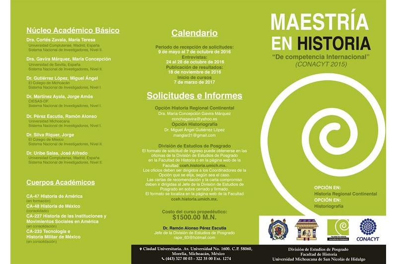 En áreas de Historia Regional Continental e Historiografía