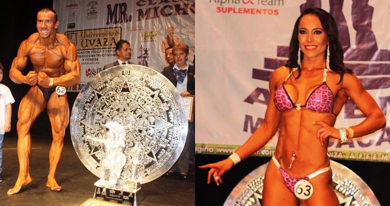 Eduardo Barrera Pedraza, de 37 años, se alzó como el campeón absoluto del certamen, quien se convierte en la máximo representante de Morelia, en el Mr. México 2016