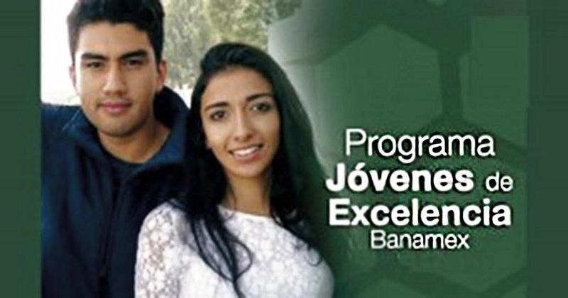 El Programa Jóvenes de Excelencia Banamex brinda apoyo para estudios de maestría en alguna de las 200 mejores universidades del mundo