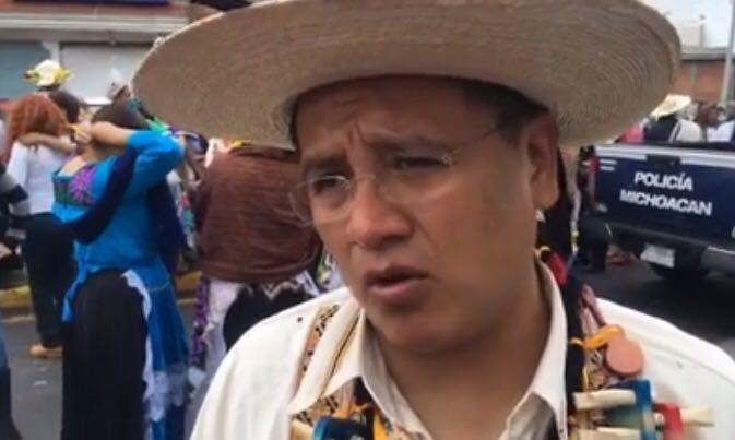 """""""En Michoacán los pueblos indígenas han aportado a la ciencia, a la cultura y con el cuidado al medio ambiente también coadyuvan con el desarrollo del estado"""" dijo el dirigente perredista"""