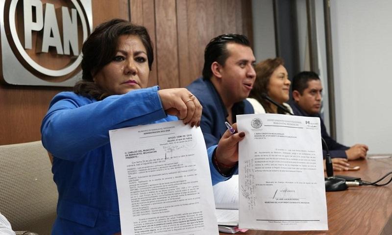 Acción Nacional acusó ante el Tribunal Electoral abuso de poder del presidente municipal