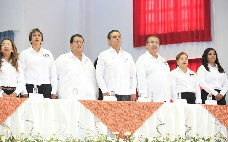 Aureoles Conejo refrendó su decisión de continuar apoyando al Ayuntamiento para impulsar el desarrollo y el bienestar de su gente