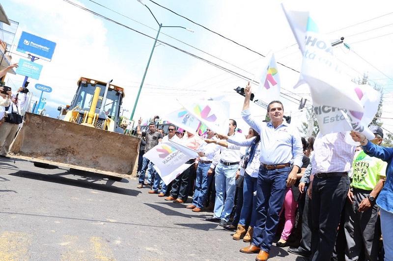 Además de cambiar el rostro de Zitácuaro, las obras tendrán un impacto regional, destaca el mandatario estatal