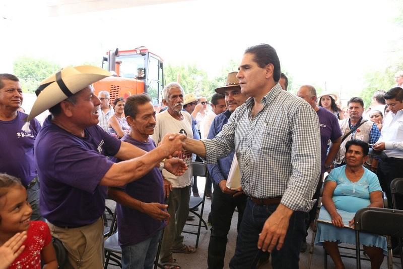 Se implementarán diversas obras y acciones sociales para construir un nuevo Pinzándaro, señaló Silvano Aureoles