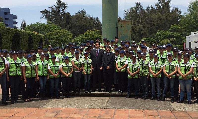 En la institución se trabaja para tener un cuerpo policial sólido, eficaz y confiable, afirma el Comisionado, Bernardo María León Olea