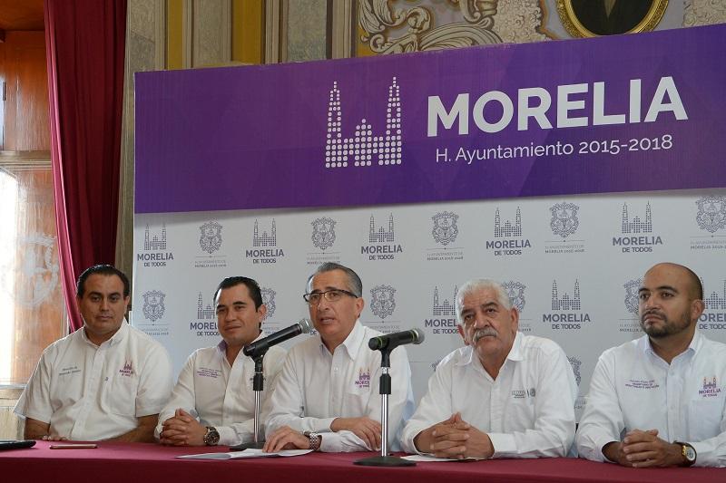 En rueda de prensa, el Síndico Municipal, Fabio Sistos, informó que dicha convocatoria es resultado del convenio de aportación de recursos complementarios para la realización de acciones