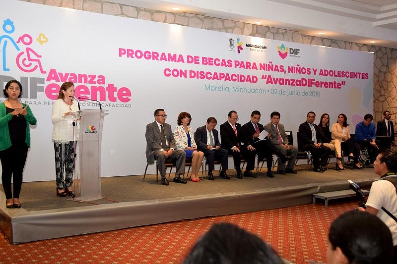 Se cumple con el compromiso del Gobernador del Estado, Silvano Aureoles Conejo de apoyar a los sectores vulnerables, en especial a las personas con discapacidad