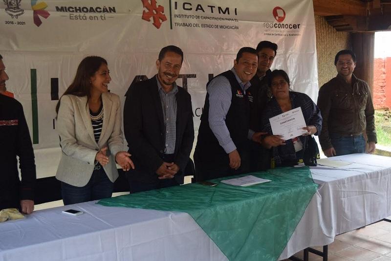 Cabe mencionar que esta capacitación se deriva del convenio de colaboración que ICATMI firmó con la Secretaría de Turismo del Estado de Michoacán