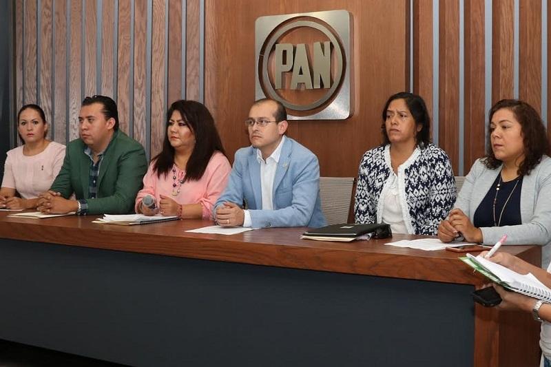 El jefe estatal del PAN, José Manuel Hinojosa, anunció medidas encaminadas para atender la violencia política en contra de las mujeres
