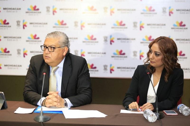 Tras evitar el colapso financiero de la entidad y sus municipios, se ha tomado el camino correcto para atender las demandas y las expectativas de las y los michoacanos, subraya el titular de la SFA, Carlos Maldonado