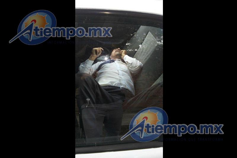 Al lugar han arribado elementos de la Secretaría de Seguridad Pública (SSP) de Michoacán para acordonar la zona (FOTOS: FRANCISCO ALBERTO SOTOMAYOR)