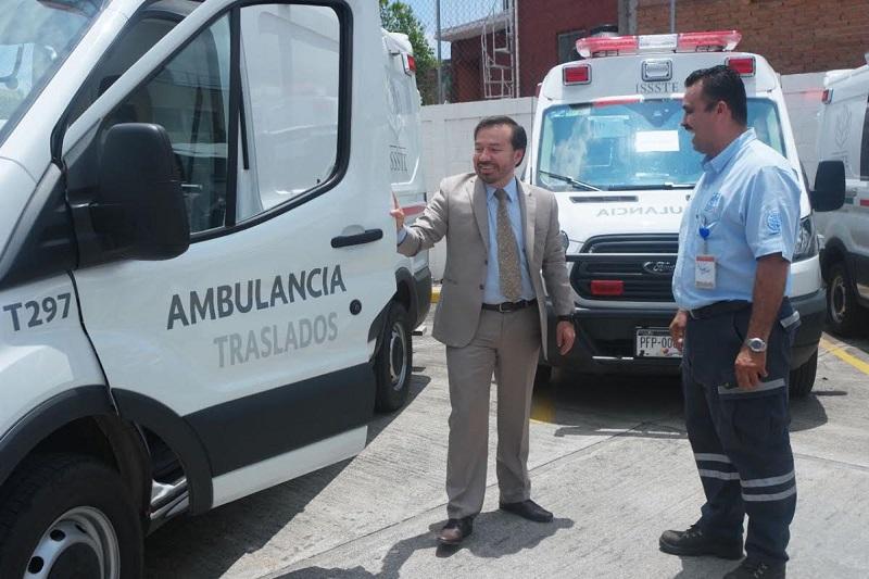 Avellaneda Hernández realizó las gestiones para que cada Clínica Hospital en Michoacán contara con estas unidades y así fortalecer la atención que otorga en la entidad