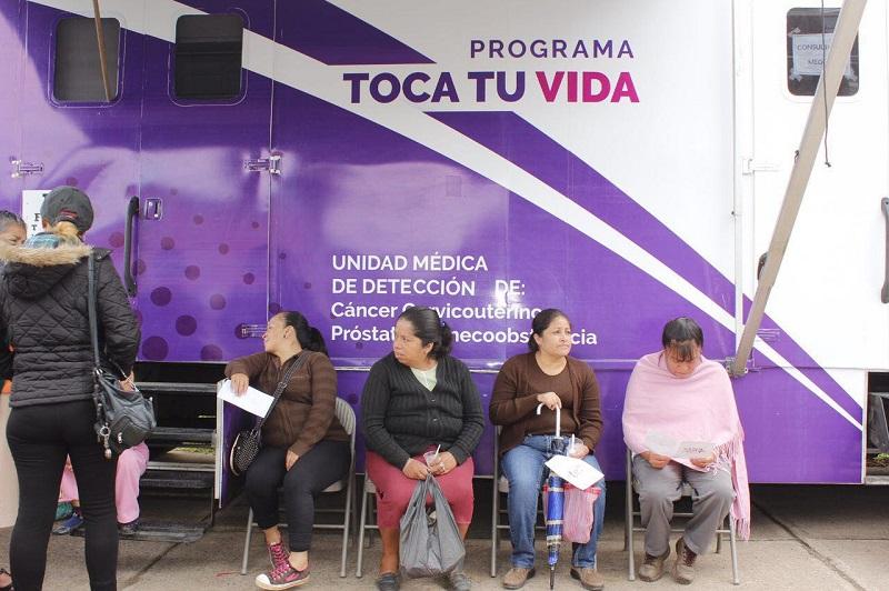 Este viernes la Secretaría de Desarrollo Humano y Bienestar Social llegó con este programa itinerante a la Tenencia de Jesús del Monte