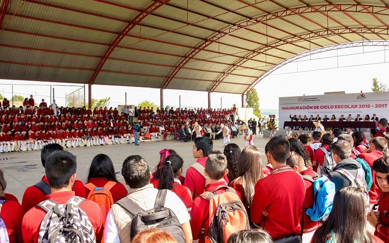 Habrá dos nuevos planteles del Colegio, uno en Jesús del Monte y otro en Indaparapeo, anuncia el director general, Alejandro Bustos Aguilar