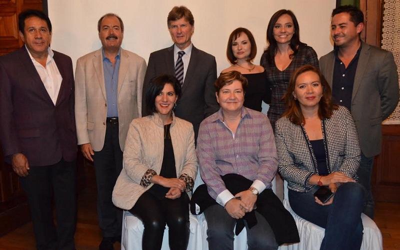 El funcionario federal estuvo en la capital michoacana a invitación de la diputada del PRI, Rosa María de la Torre