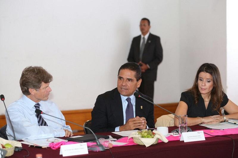 Haremos del turismo el motor central de la economía del estado, destaca Aureoles Conejo