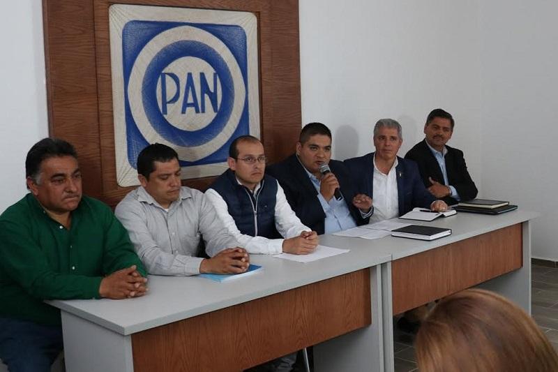El coordinador de alcaldes del PAN, Arturo Hernández Vázquez, destacó la gran capacidad de gestión de los ediles, así como de los diputados federales del partido