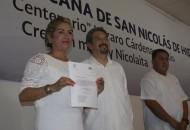 Norma Lorena Gaona adquirió el compromiso de desarrollar un trabajo de altura para que los quehaceres de la Unidad Profesional tengan un buen fin