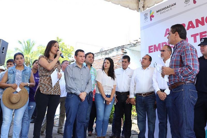 Tinoco Soto acompañó al Gobernador del Estado, donde le  expuso los avances en las obras que se han generado para reactivar el tejido social