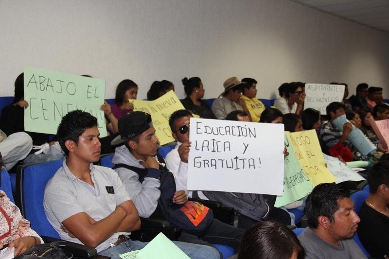 Pide el rector de la Casa de Hidalgo a moradores de albergues estudiantiles, solidaridad a la institución que hace posible que hoy estudien una carrera universitaria