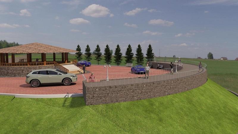 En su primera etapa este proyecto contempla la demolición del empedrado ya existente para abrir caja y alojar estructura de pavimento en camino y banquetas; red eléctrica de alumbrado y zonas de descanso