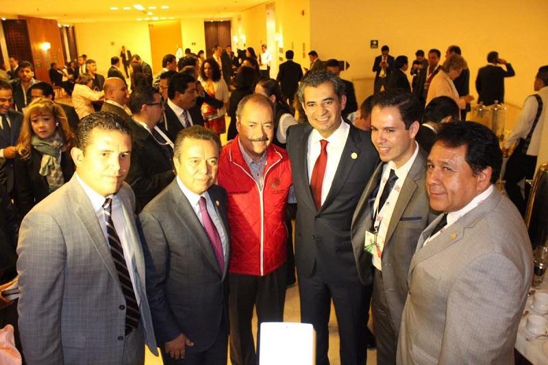 Silva Tejeda comentó que la visita del presidente del CEN, quien además es michoacano, abonará para trabajar la unidad  e integración, y poder re direccionar y fortalecer al partido