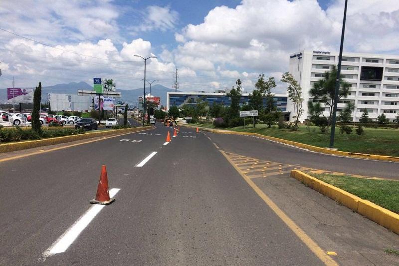La finalidad es mejorar el flujo vehicular y dotar de calles más seguras a transeúntes y automovilistas
